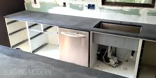 making concrete counter making your own concrete countertop mix making concrete countertops look like marble