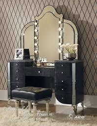 brilliant vanity set furniture top 25 ideas about black makeup black makeup vanity