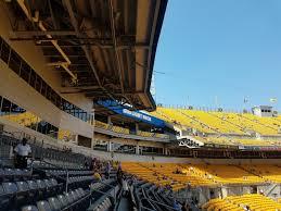Pittsburgh Steelers Club Seating At Heinz Field