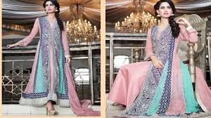Latest 50 Pakistani Party Dresses And Frock Designs 2017 Youtube