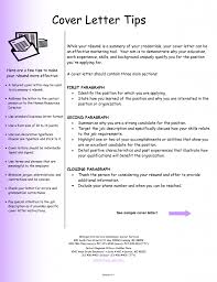 Examples Of Cover Letter For A Resume - Letter Idea 2018
