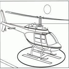 Kleurplaat Helicopter Kleurplaatarchiefnl