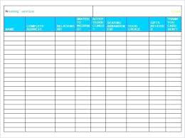 Wedding Guest List Template Excel Download Wedding Guest List Templates Word Excel Invitation Manager