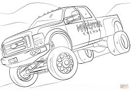 Monster Truck Coloring Sheets With Monster Energy Monster Truck