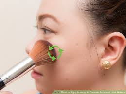 image led apply makeup to conceal acne and look natural step 11