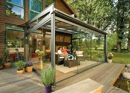 patio extended ideas architecture design small enclosed