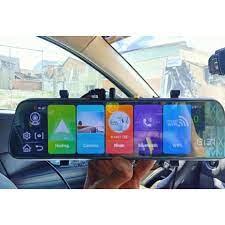 Camera hành trình kẹp gương Android 8.1 cắm sim 4G giám sát từ xa Ver 2020