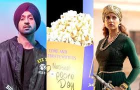 How about some grabbing some pop-corns as Diljit Dosanjh vs Kangana Ranaut  on Twitter gets murkier - Oyeyeah