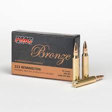 223 55gr Bullet Drop Chart 223 Remington Pmc Ammunition