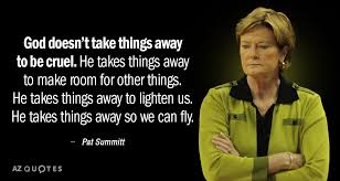 TOP 40 QUOTES BY PAT SUMMITT Of 40 AZ Quotes Gorgeous Pat Summitt Quotes