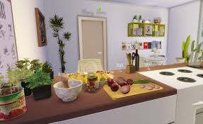 Sims Kitchen My Sims 4 Blog So Natural Kitchen Room By Monysims