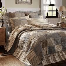 farmhouse quilt bedding. Delighful Quilt Sawyer Mill Block Quilt Throughout Farmhouse Bedding A