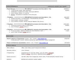 Curriculum Vitae Resume Cv Curriculum Vitae Resume Template In English 1 0