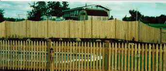 Full Size of Fence Design:picket Fence Finance Grange Fencing Traditional  Round Top W M H Bq ...