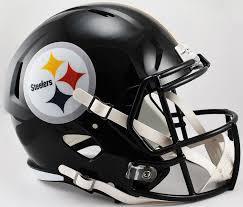 Pittsburgh Steelers Replica Speed Football Helmet