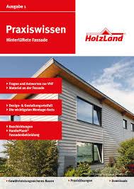 Holzland Praxiswissen Hinterlüftete Fassade By Kaiser Design Issuu