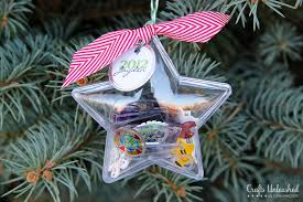 time capsule shrink plastic ornaments