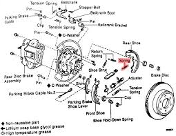 2003 toyota highlander emergency brake diagram not lossing wiring does anyone have a diagram of the rear parking brake assembly rh tundrasolutions com diagram of 2003 highlander exhaust system toyota highlander engine