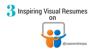 slede share 3 inspiring visual resume examples on slideshare