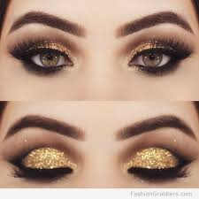 description 30 gorgeous golden holiday makeup ideas for new years
