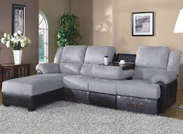 sectional couches with recliners. Sectional Couch With Recliner And Chaise Modern Reclining Gray Black Chairs Table Flowers Couches Recliners