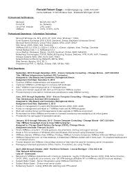 Vmware Resume Examples Business Objects Administrator Resume Camelotarticles 8
