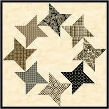 A variation of the Friendship Star quilt block | Star quilt blocks ... & A variation of the Friendship Star quilt block Adamdwight.com