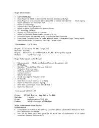 Bunch Ideas Of Resume Cv Cover Letter Sap Hr Resume Sample Resume