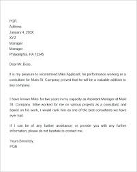 recommendation letters for employment  documents  recommendation letter for employment promotion