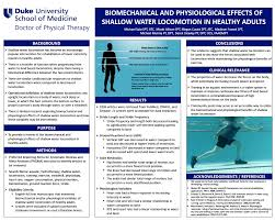 examples of poster board projects student capstone project posters duke doctor of physical therapy