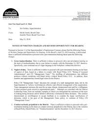 Notice Of Written Charges 052118 Pdf Democratherald Com