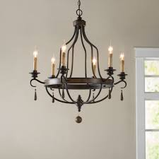 birch lane coningsby 6 light candle style chandelier reviews birch lane