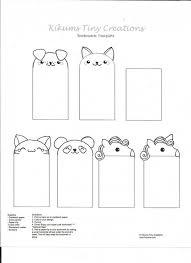 004 Template Ideas Free Printable Bookmark Stunning