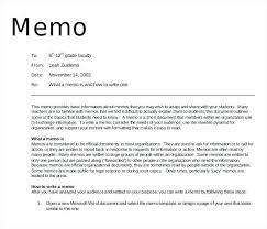 Example Memo Template Wsopfreechips Co