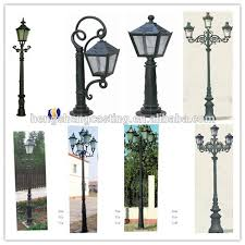 Small Picture Cast Aluminum Decorative Street Light Pole Base Light Pole Base
