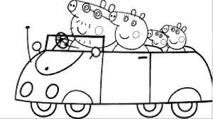 Coloring Homely Ideas Peppa Pig Coloring Games Pages Shining