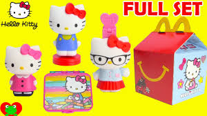 Mcdonalds happy meal toys hello kitty