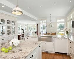 Granite On White Kitchen Cabinets