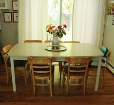 diy refinish wooden dining chairs after