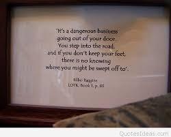 Bilbo Baggins Quotes Gorgeous LOTR Bilbo Baggins Quote