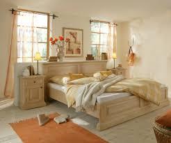 Bett Doppelbett Ehebett Mit Nachtkommode Schlafzimmer Fichte Massiv