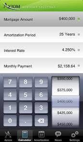Mortgage Calculator App Store Canadian Mortgage Calculator
