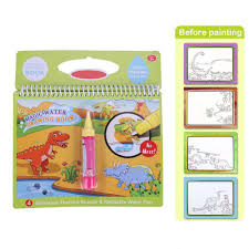 water coloring book kids painting magic water drawing