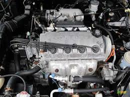 1997 Honda Civic EX Coupe 1.6 Liter SOHC 16-Valve VTEC 4 Cylinder ...