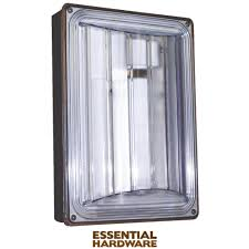 lights of america 9w fluorescent outdoor wall light fixture 9209