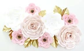 full size of white metal flowers wall decor paper nursery art lane decorating scenic blush set