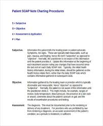 Subjective Objective Assessment Planning Note Inspiration 44 SOAP Note Examples PDF
