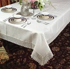 Amazon.com: Violet Linen Treasure Lace Oblong/Rectangle Tablecloth, 70