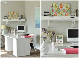 office decorating ideas colour. Home Office Desk Great Design Small Ideas For Space Desks Furniture Green Wall Accent Colour P Decor Decorating