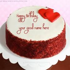 Happy Birthday Cake With Name For Facebook Dpsainiflorist